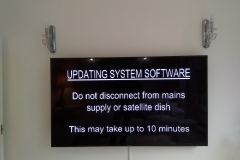 65'' TV ON WALL SKY SOFTWARE DOWN LOAD