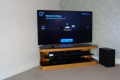 Setting up television